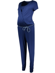SuperMom Positiekleding 70212 JUMPSUIT CHLOE MIDNIGHT BLUE