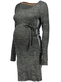 SuperMom Positie jurk S0340 DRESS KNIT C205 Dark Army