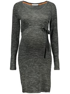 s0340 dress knit supermom positie jurk c205 dark army