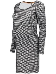SuperMom Positie jurk S0341 DRESS JACQUARD C010 Off White