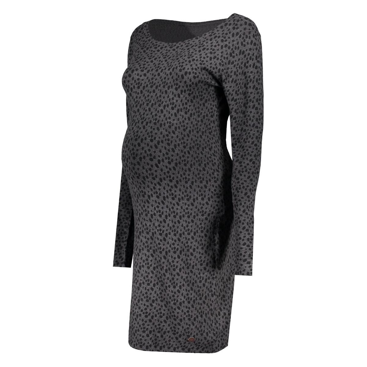 60740 dress kat noppies positie jurk anthracite