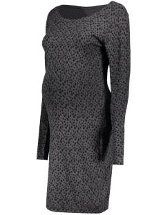 Noppies Positie jurk 60740 DRESS KAT ANTHRACITE