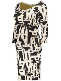60744 dress 3/4 mia noppies positie jurk graphite