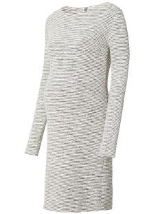 Noppies Positie jurk 70616 DRESS HEATHER Off- White
