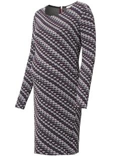 Noppies Positie jurk 70716 DRESS INDY DARK PURPLE