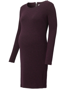 Noppies Positie jurk 70717 DRESS INEZ DARK PURPLE
