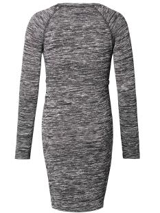 s0563 dress melange supermom positie jurk dark grey