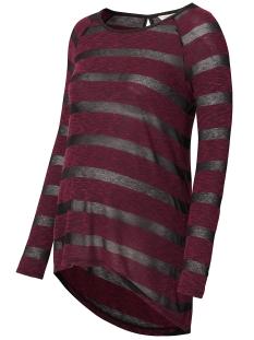 Noppies Positie shirt 70822 TUNIC JUUL Wine