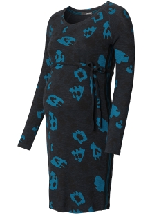 SuperMom Positie jurk S0612 DRESS LEOPARD Blue