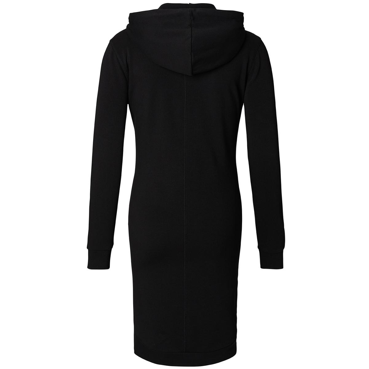 s0613 dress sweat supermom positie jurk black