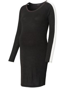 SuperMom Positie jurk S0661 DRESS RIBBING BLACK