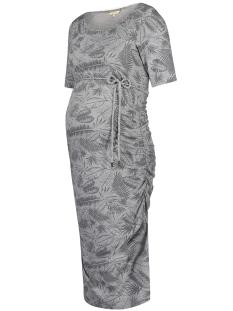 Noppies Positie jurk 80219 DRESS BENTHE GREY MELANGE