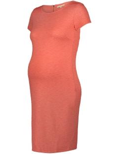 Noppies Positie jurk 80227 DRESS BENJA Coral