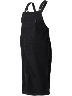 SuperMom Positie jurk S0705 DRESS PINAFORE BLACK DENIM