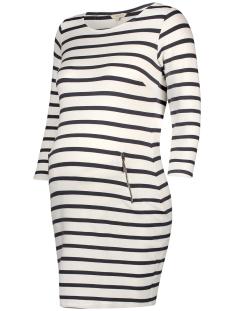 Noppies Positie jurk 80110 DRESS ANKE OFF WHITE