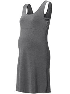 SuperMom Positie jurk S0776 DRESS TANK GREY MELANGE