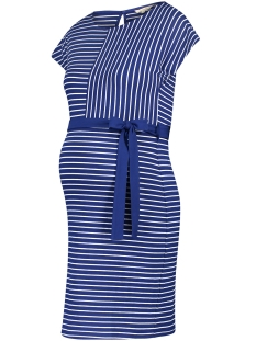 Noppies Positie jurk 80410 DRESS DAANTJE Blue Stripe