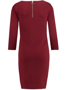 80530 noppies positie jurk c085 dark red