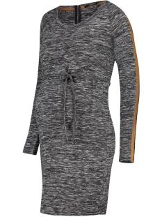 Superdry Positie jurk S0854 DRESS IS KNIT GREY C247 ANTHRACITE MELANGE