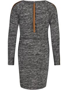s0854 dress is knit grey supermom positie jurk c247 anthracite melange