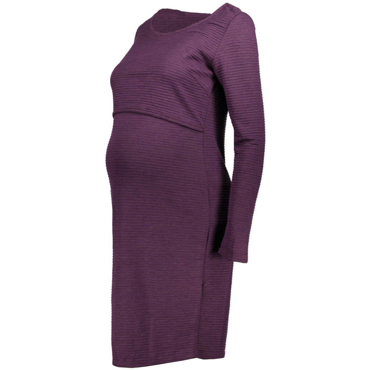 80730 dress nurs is mena noppies positie jurk c125 dark purple
