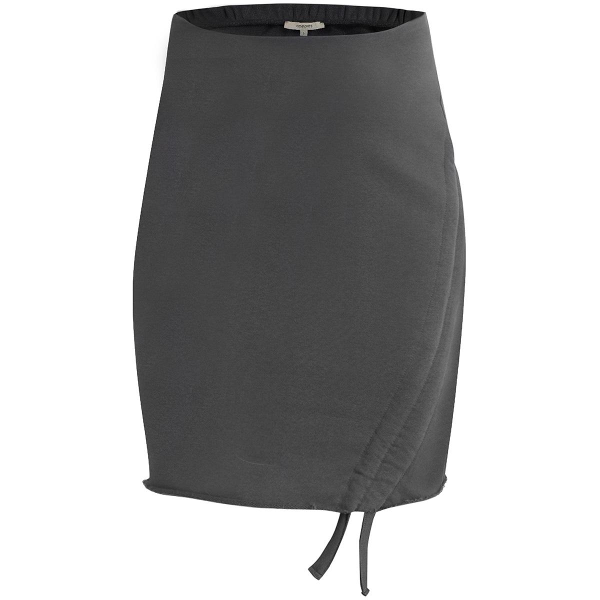 80131 skirt ashley noppies positie rok dark grey