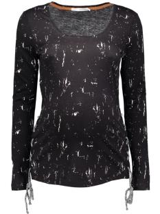 s0345 tee marble supermom positie shirt c270 black