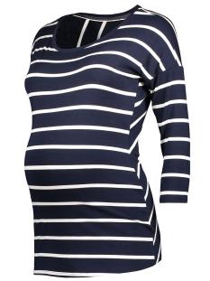 Noppies Positie shirt 70112 TEE LILA C165 DARK BLUE