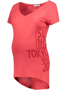 SuperMom Positie shirt S0436 TEE SYA Red
