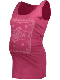 Noppies Positie shirt 70322 TANK LUCE C083 WARM RED