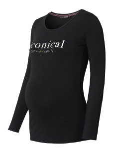 SuperMom Positie shirt S0504 TEE ICONICAL Black