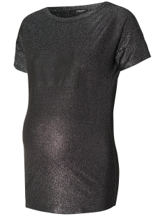 SuperMom Positie shirt S0602 TEE GLITTER Black