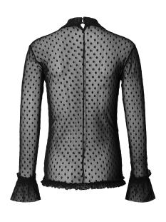 s0653 top mesh spot supermom positie blouse black