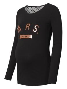 SuperMom Positie shirt S0668 TEE SPARKLE BLACK
