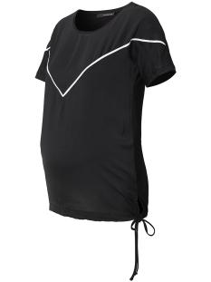 SuperMom Positie shirt S0715 TEE COMBI BLACK