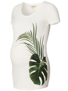Noppies Positie shirt 80213 TEE BABS OFF WHITE