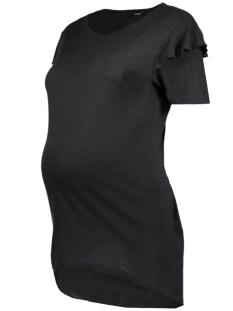 SuperMom Positie shirt S0733 TEE RUFFLE BLACK