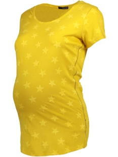 SuperMom Positie shirt S0737  TEE STAR YELLOW