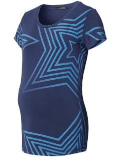 SuperMom Positie shirt S0754 TEE BLUE STARS BLUE