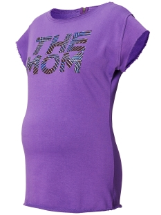 SuperMom Positie shirt S0756 TEE PURPLE PURPLE