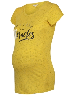 Noppies Positie shirt 80321 TEE CHANTAL BRIGHT YELLOW