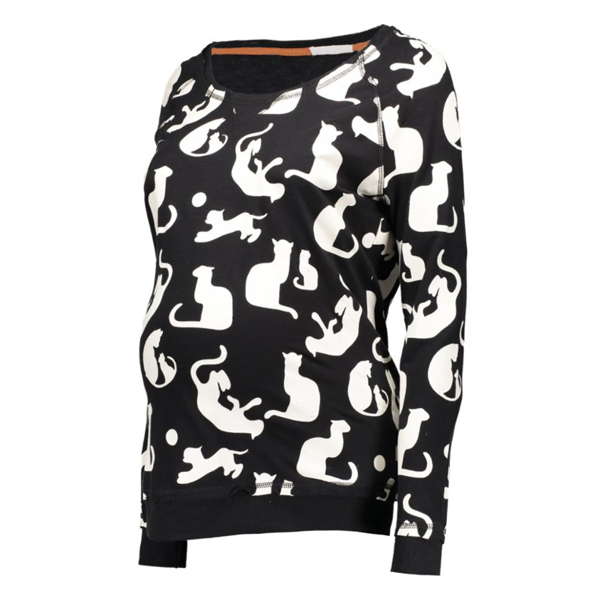 s0343 sweater cat supermom positie trui c010 off white