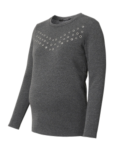 SuperMom Positie trui S0501 SWEAT EYELET Anthracite