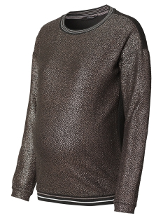 s0652 sweater shiny supermom positie trui rose gold
