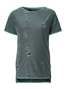 s0707 sweater destroyed supermom positie shirt green