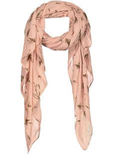 pcblossom long scarf 17075484 pieces sjaal misty rose