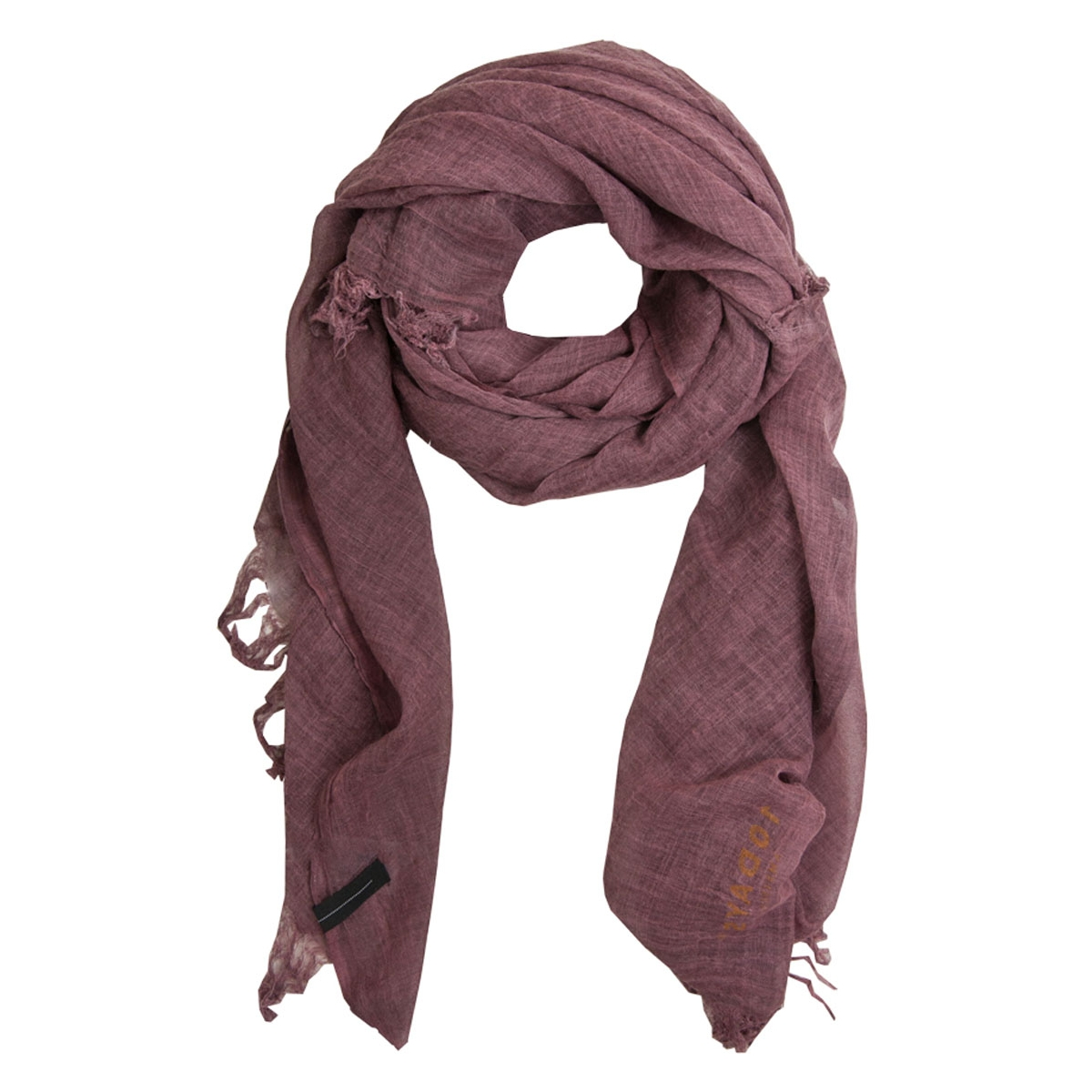 16wi907 10 days sjaal bordeaux