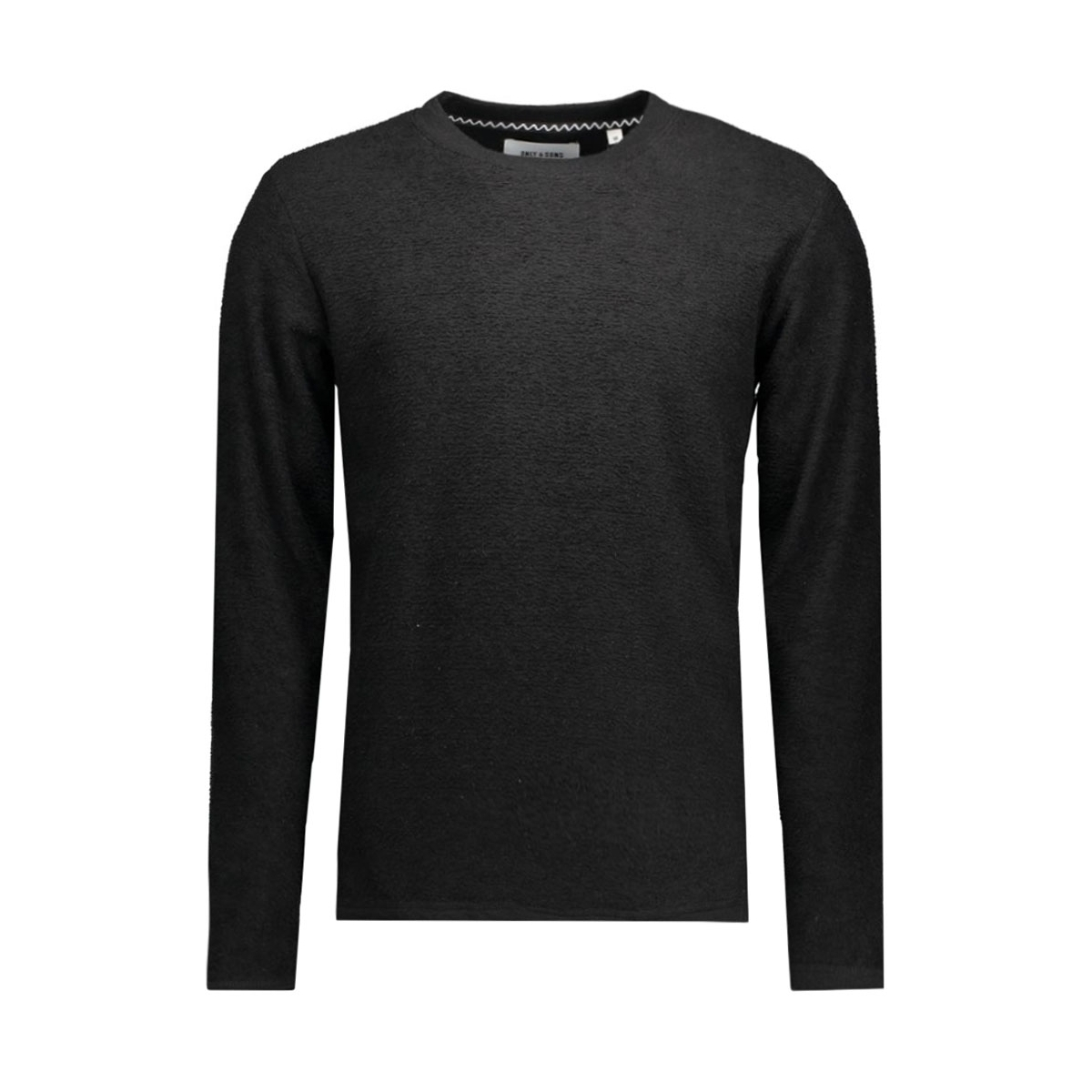 onsnaman ls crew neck 22004127 only & sons trui black