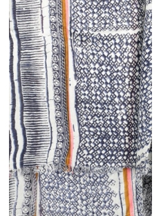 pcpossa long scarf 17077108 pieces sjaal sky gray