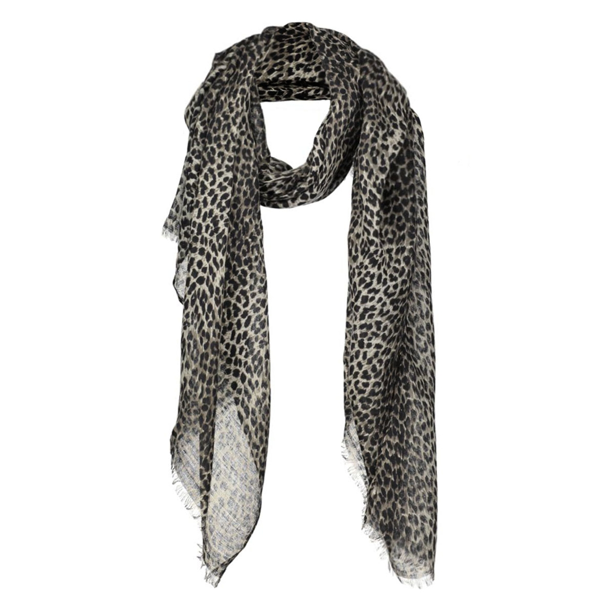 pcelfrida long scarf air 17080412 pieces sjaal khaki green